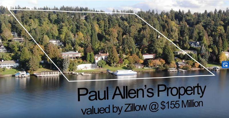 Paul Allen's home