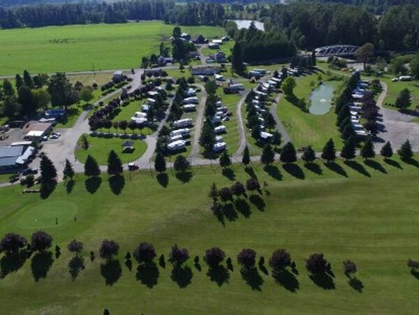RV Park in green grass